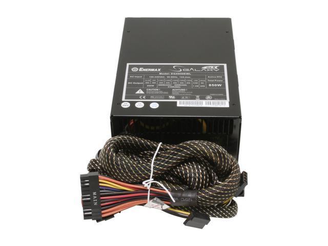 ENERMAX Galaxy EGX850EWL 850W ATX12V/ EPS12V/ BTX SLI Ready CrossFire Ready 80 PLUS Certified Modular Active PFC Power Supply