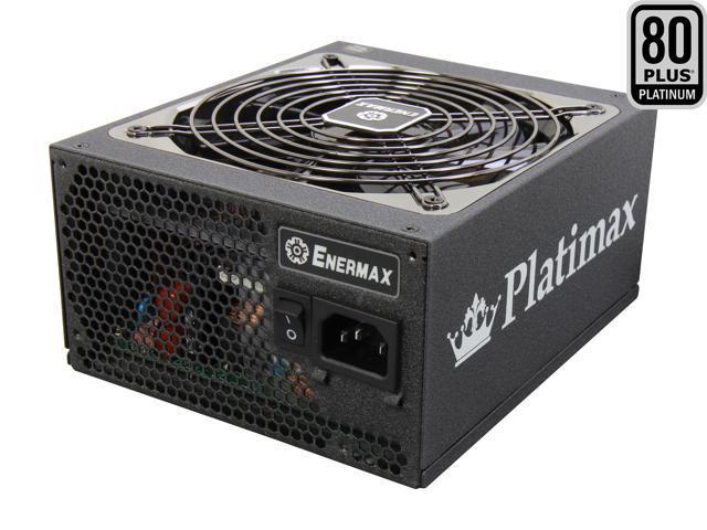 ENERMAX Platimax EPM600AWT 600W ATX12V / EPS12V SLI Ready CrossFire Ready 80 PLUS PLATINUM Certified Modular Power Supply New 4th Gen CPU Certified Haswell Ready