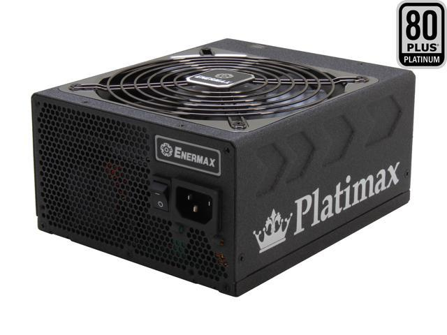 ENERMAX Platimax EPM1350EWT 1350W ATX12V / EPS12V SLI Ready CrossFire Ready 80 PLUS PLATINUM Certified Full Modular Active PFC Power Supply New ...