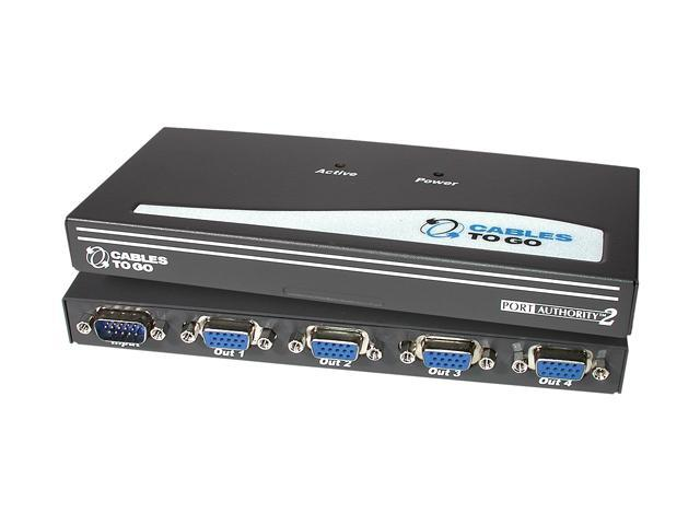 CABLES TO GO 29551 4-Port UXGA Monitor Splitter Extender
