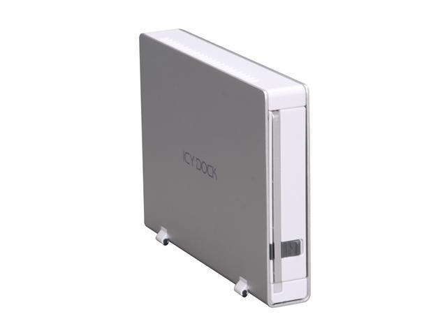 "ICY DOCK MB559 MB559UEA-1S Aluminum body with partial plastic 3.5"" USB2.0 & 1394 External Enclosure"
