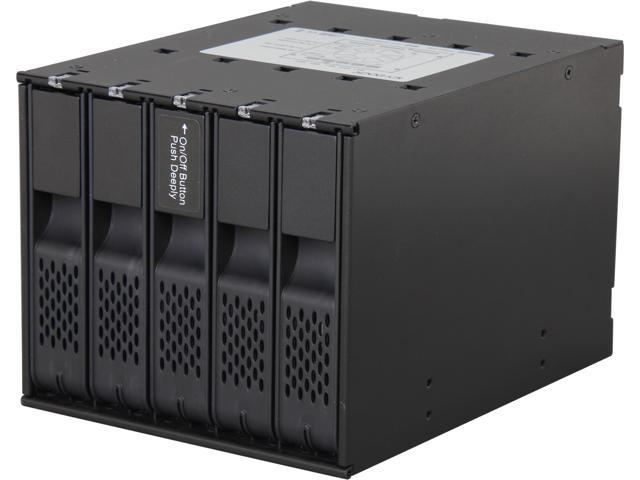 ICY DOCK MB975SP-B Tray-less 5 Bay 3.5