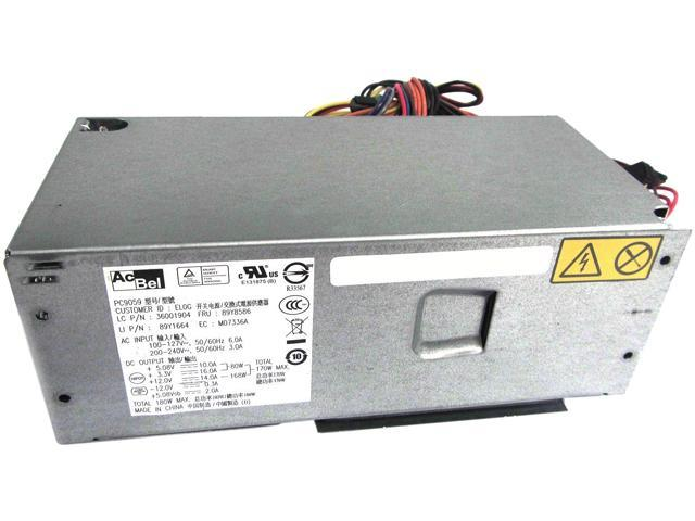 Lenovo 89Y8586-R 180W ATX Genuine Recertified Thinkcentere 180 Watt Power Supply