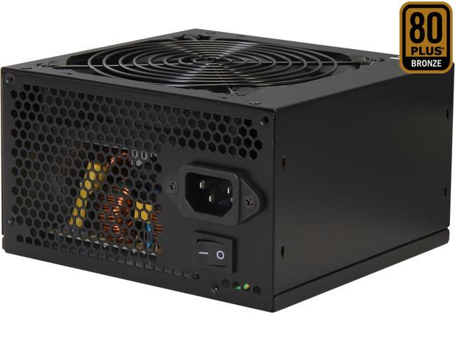 GIGABYTE GreenMax Plus GZ-EMS55A-C1 550W ATX12V / EPS12V SLI Certified CrossFire Ready 80 PLUS BRONZE Certified Active PFC Power Supply