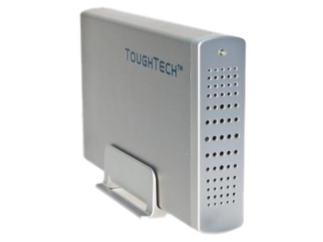 WiebeTech 36050-2530-0000 Silver ToughTech Q Enclosure with FlexMount Anti-Shock Protection