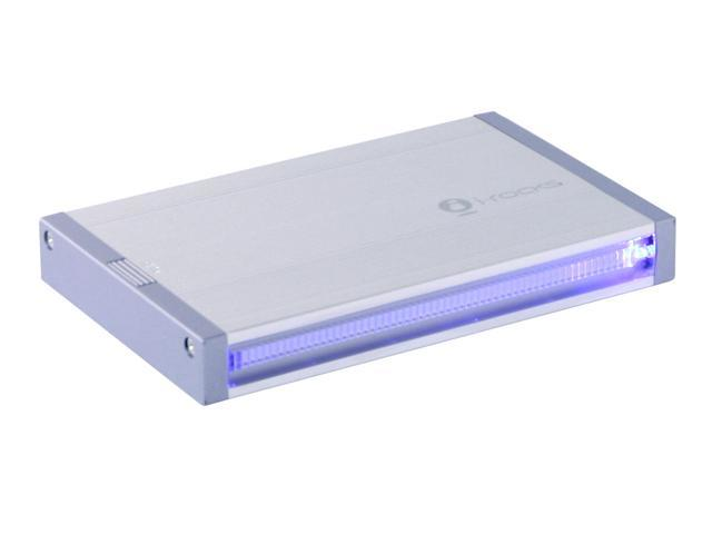 "i-rocks IR-9200-SL Aluminum 2.5"" USB 2.0 External Enclosure"