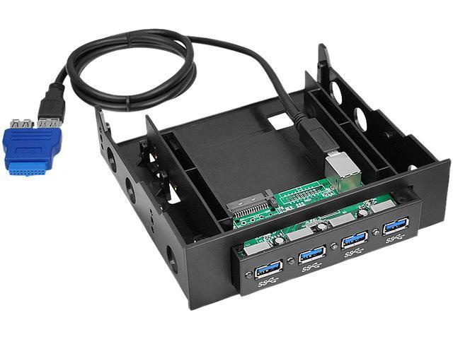 SIIG USB 3.0 4-Port Bay Hub
