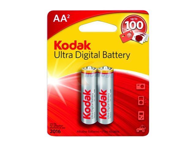 Kodak KUDAA2 2-pack AA Alkaline Batteries