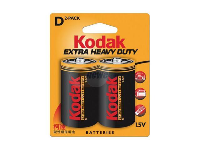 Kodak KEHDD2 2-pack Size D Alkaline Batteries