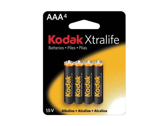 Kodak XL3A4 4-pack AAA Alkaline Batteries