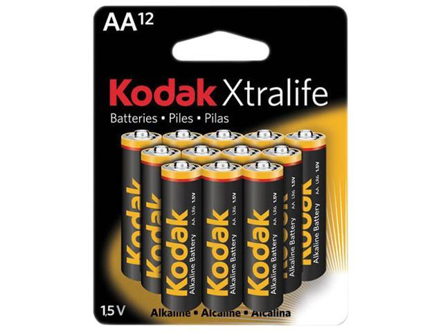 Kodak XLAA12 12-pack AA Alkaline General Purpose Battery