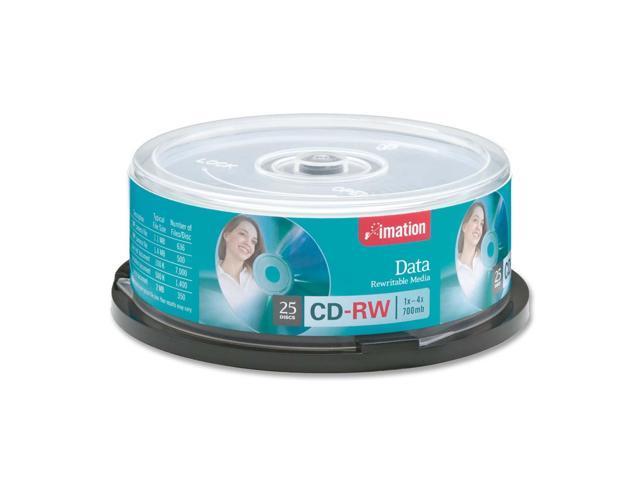 imation 4X CD-RW 25 Packs Disc Model 41149