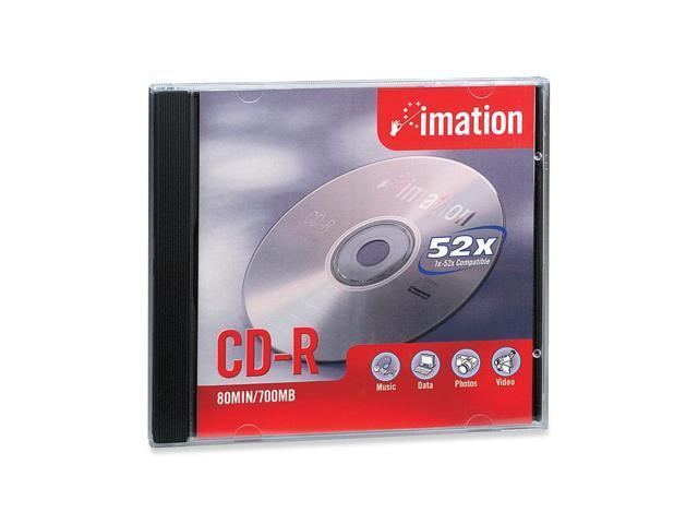 imation 700MB 52X CD-R Single Disc Model 17331