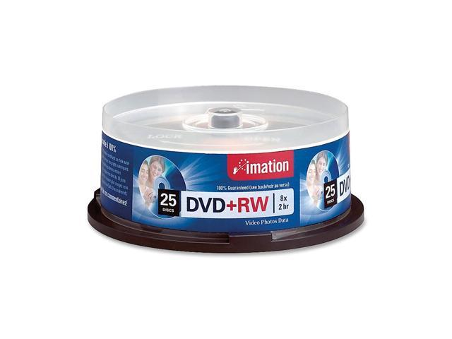 imation 4.7GB 8X DVD+RW 25 Packs Disc Model 27134