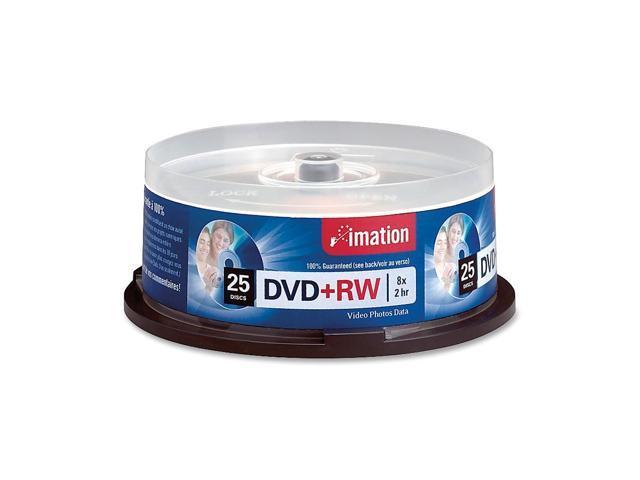 imation 4.7GB 8X DVD+RW 25 Packs Disc Model 27134