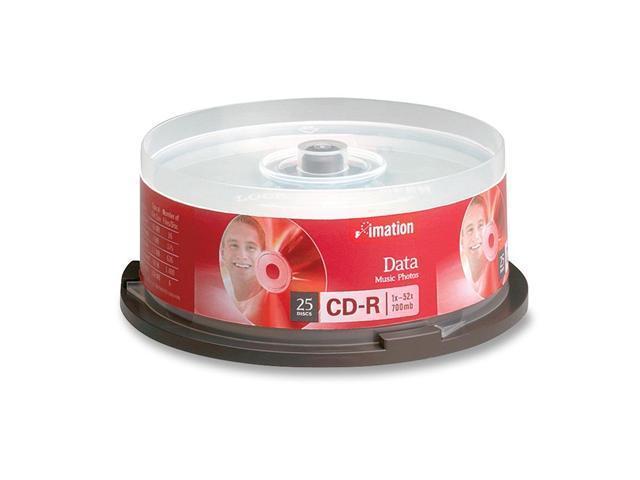imation 700MB 52X CD-R 25 Packs Media Model 17333