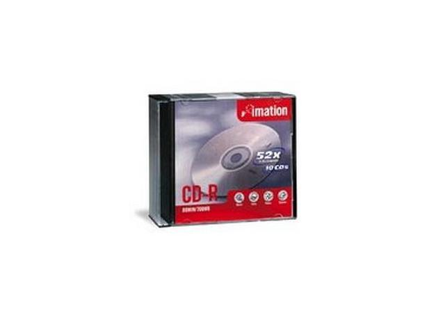 imation 700MB 52X CD-R 20 Packs Disc Model 17259