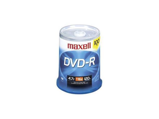 maxell 4.7GB 16X DVD-R 100 Packs Disc Model 638014