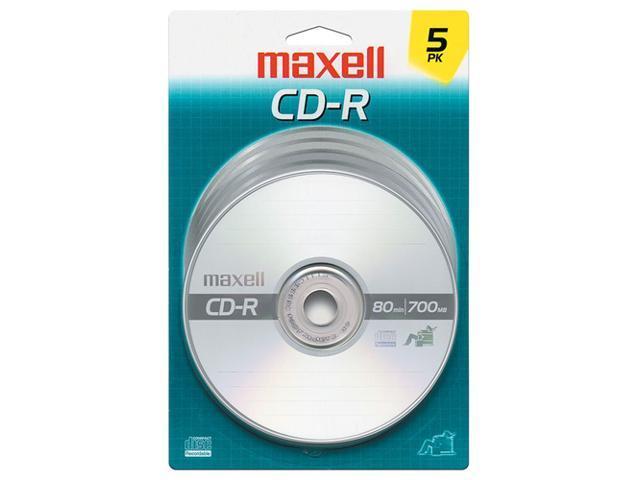 maxell 700MB 40X CD-R 5 Packs Disc Model 648220