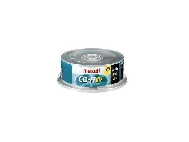 maxell 700MB 4X CD-RW 25 Packs Disc Model 630026