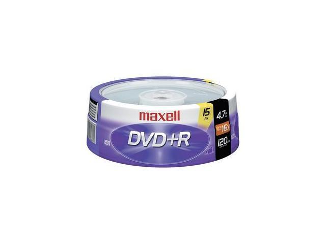 maxell 4.7GB 16X DVD+R 15 Packs Disc Model 639008