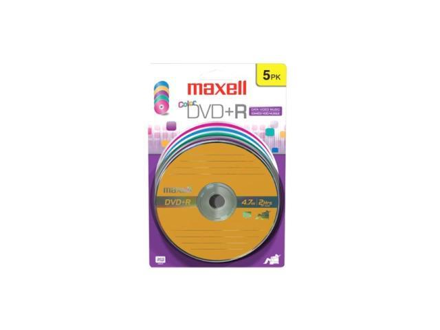maxell 16X DVD+R 5 Packs Disc Model 639031