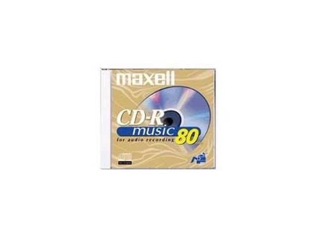 maxell 700MB 40X CD-R 10 Packs Media Model 625133