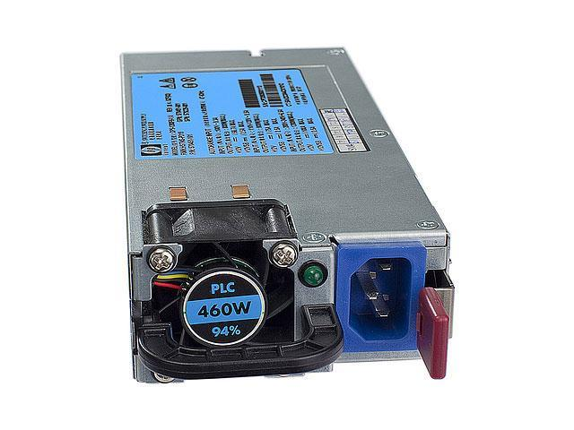 HP 503296-B21 460W Single HE 12V Hot Plug AC Server Power Supply Kit