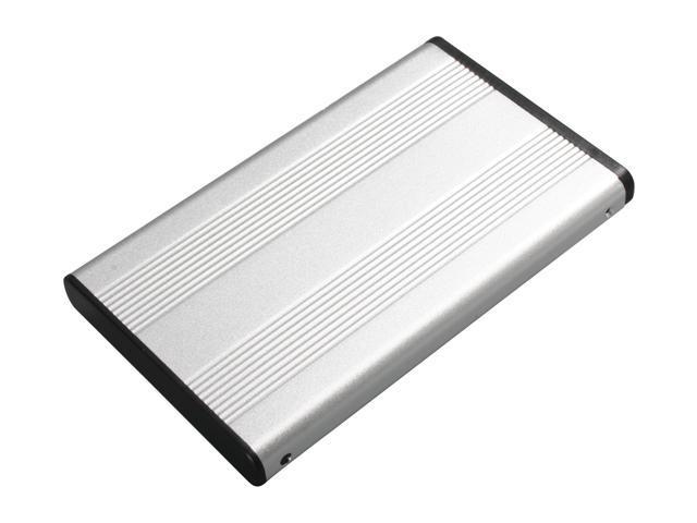"""Link Depot ENWB-25B-SS Aluminum 2.5"""" USB 2.0 External Enclosure"""