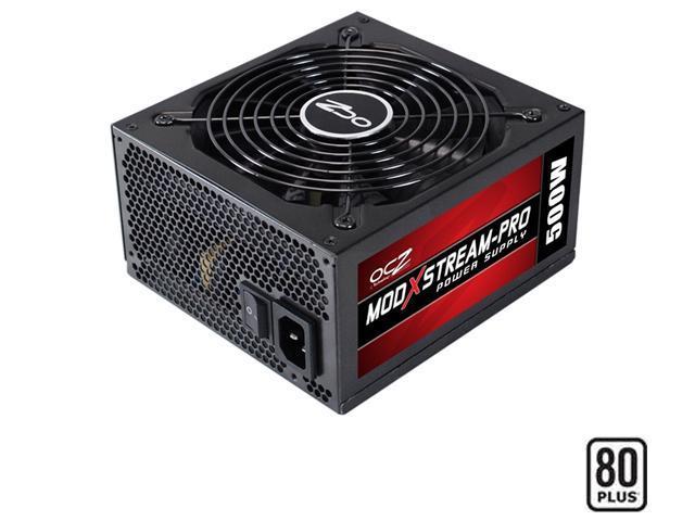 PC Power & Cooling ModXStream Pro Series 500 Watt 80+ Semi-Modular Active PFC Performance Grade ATX PC Power Supply (OCZ500MXSP)