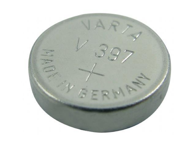 LENMAR WC397 1.55V / 33mAh SR726SW, 397 Silver Oxide Coin Cell Batteries