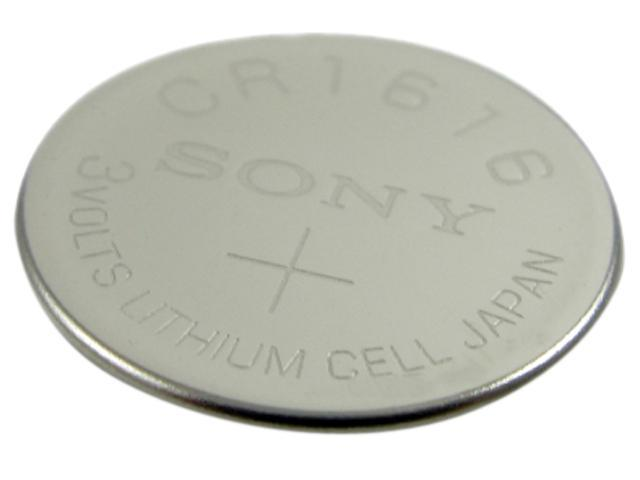 LENMAR WCCR1616 1-pack 57 mAh 1616 Lithium Coin Cell Lithium Coin Battery