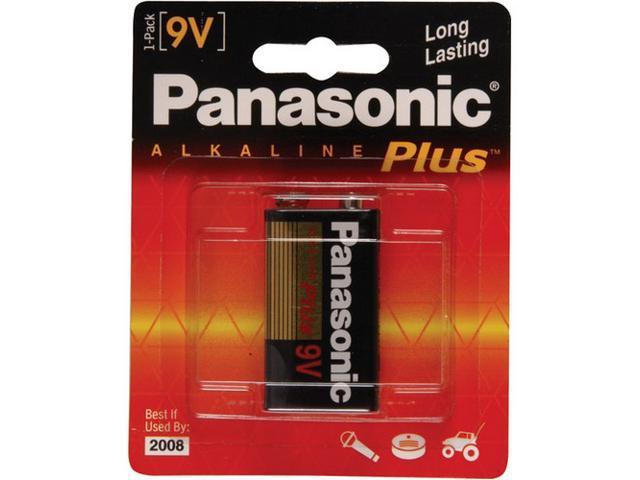 Panasonic 6AM-6PA/1B 1-pack 9V Alkaline Batteries