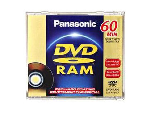 Panasonic 2.8GB DVD-RAM Double-sided Media Model LM-AF60U