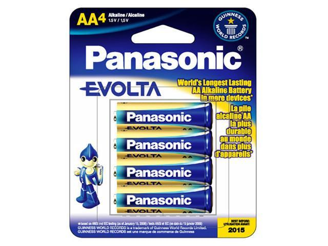 Panasonic  LR6EGA/4B Evolta  4-pack  AA Alkaline  Batteries