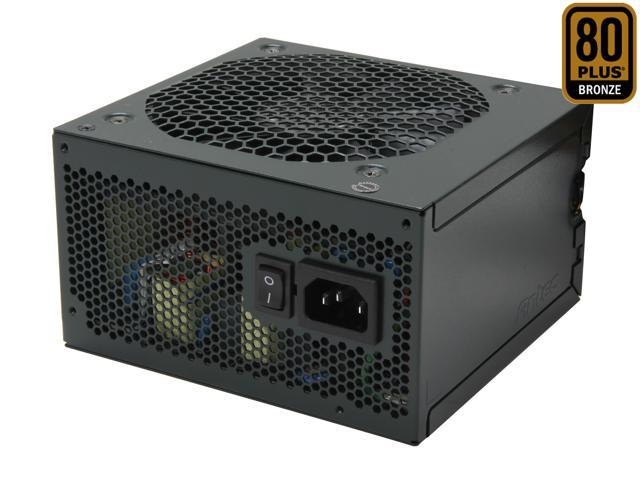 Antec EA-500 Green 500W ATX12V / EPS12V SLI Ready CrossFire Ready 80 PLUS BRONZE Certified Active PFC Power Supply - Intel Haswell Fully Compatible