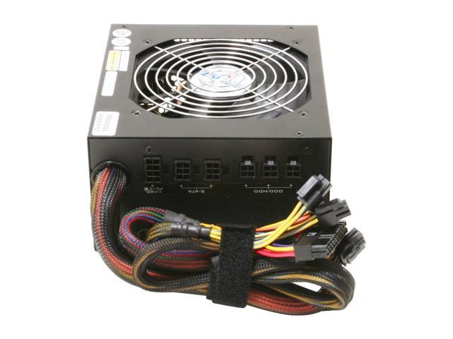 ZALMAN ZM600-HP 600W Continuous @ 45°C ATX12V V2.2 / EPS12V V2.91 SLI Certified CrossFire Ready 80 PLUS BRONZE Modular Active PFC Modular LED Heatpipe-Cooled SLI Power Supply