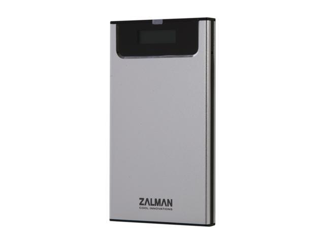 Zalman ZM-VE200 Silver External Enclosure with Virtural Drive Function