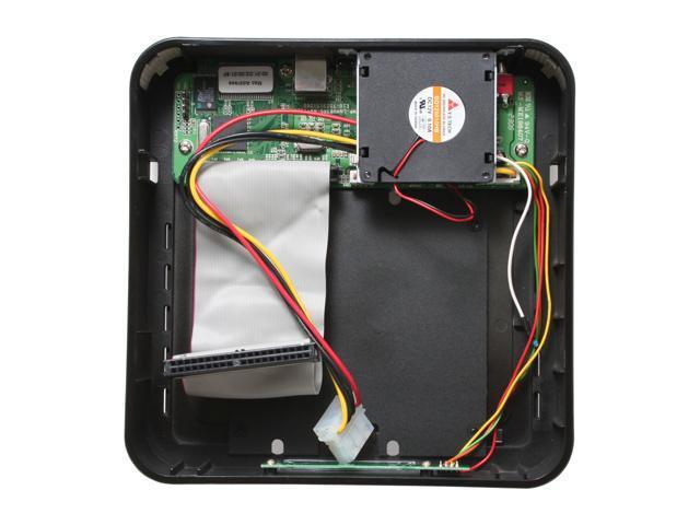 "VANTEC NexStarLX NST-375LX-BK 3.5"" Black USB2.0+RJ45 Ethernet External Enclosure"