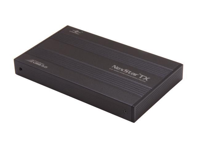 VANTEC NexStar TX NST-210S3-BK Black External Enclosure
