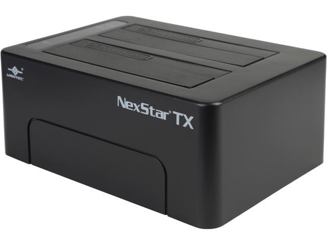 "VANTEC NexStar TX Dual 2.5""/3.5"" SATA 6Gb/s to USB 3.0 SSD/HDD Dock-Newegg.com"