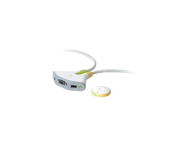 BELKIN Flip F1DG102W Wireless 2 Port USB KVM w/Audio