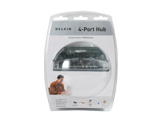 BELKIN F5U021vSN USB 1.1 4-Port Hub