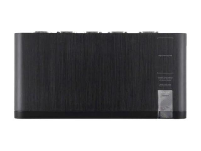 Belkin F1DN104F-3 - Advanced Secure Dual-Head DVI-I KVM Switch; 4-Port Plus, PP3.0