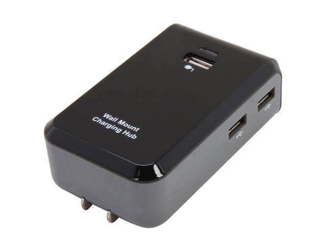 GWC HU2X40 USB 4-Port Wall Charger Smart Hub