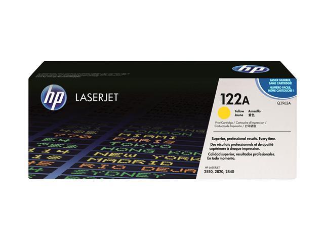HP 122A Yellow LaserJet Toner Cartridge (Q3962A)