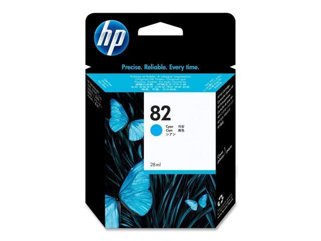 HP 82 Cyan Ink Cartridge (C4911A)