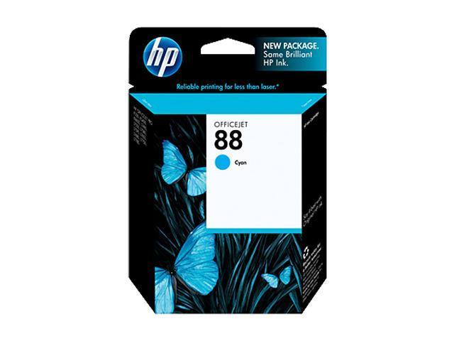 HP 88 Cyan Officejet Ink Cartridge (C9386AN#140)