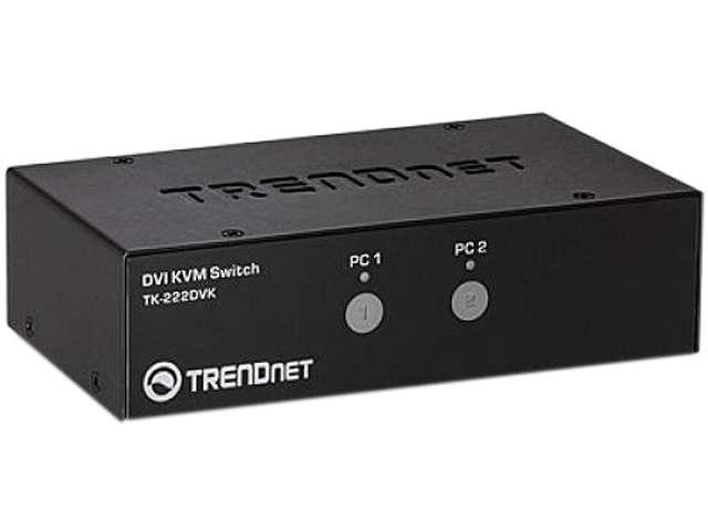 TRENDnet 2-Port DVI KVM Switch Kit