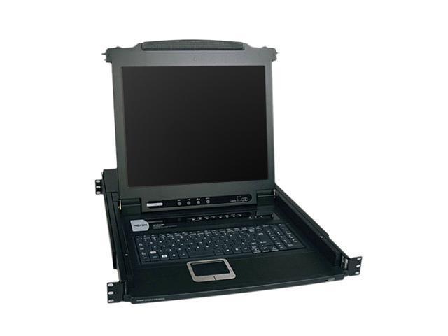 TRIPP LITE B020-008-17 8-Port NetDirector 1U Rackmount Console KVM Switch w/17